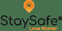 StaySafe Logo 2020 - Light (R) Transparent [Stacked]